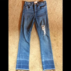 McGuire jeans size 26 stretchy and soft . Cropped